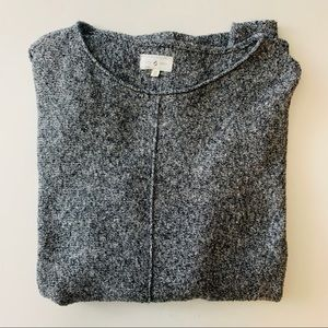 LOU & GREY | heathered oversized dolman sweater M